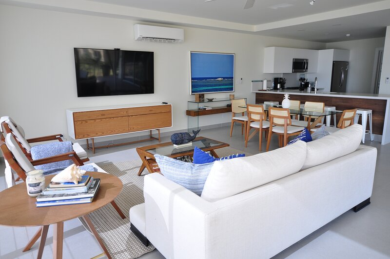 Azuero Lodge: Luxury Beachfront condo Playa Venao – semesterbostad i Playa Venao