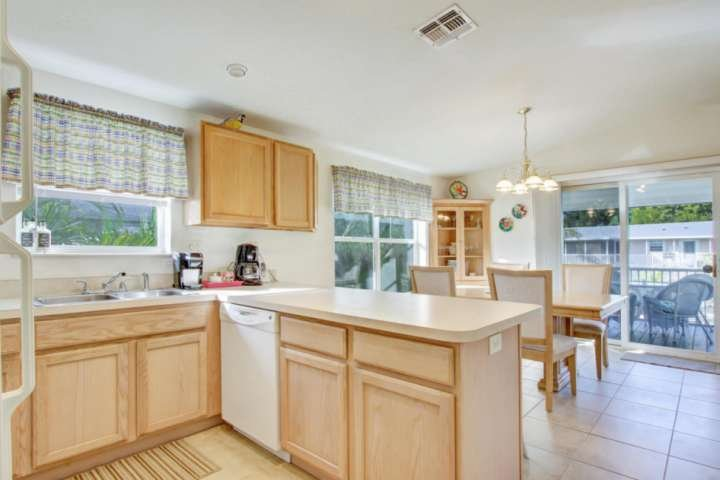 Open Concept Kitchen and Dining to share Conversations while Preparing Breakfast, Lunch or Dinner.