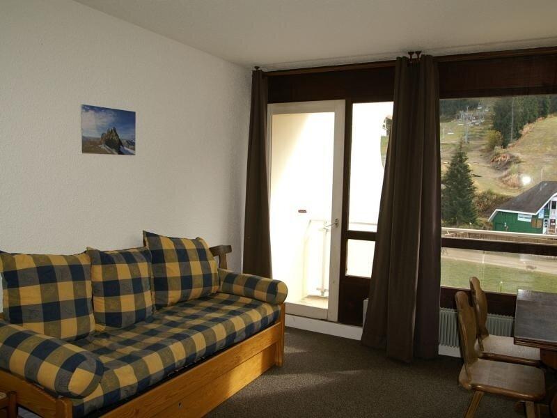 2 pièces cabine au pied des pistes résidence Agnelins, holiday rental in Prapoutel
