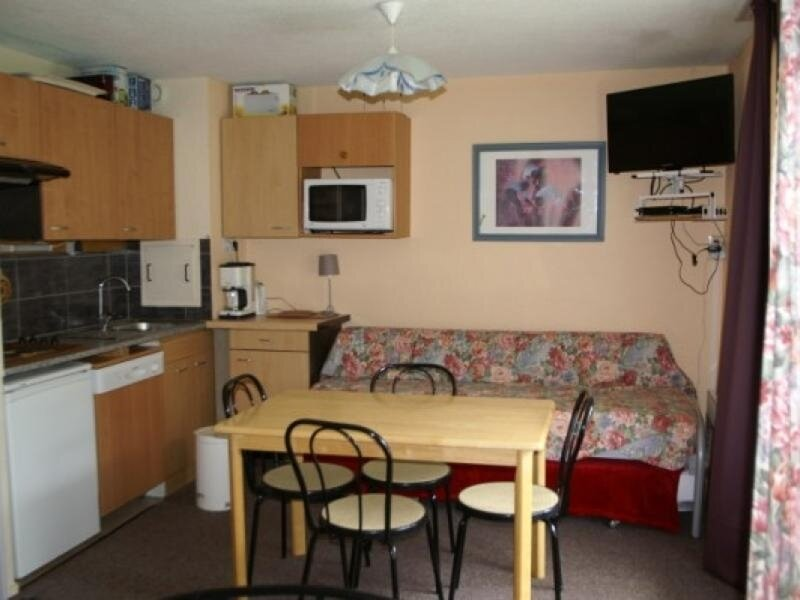 Studio cabine au pied des pistes résidence Sapins, holiday rental in Prapoutel