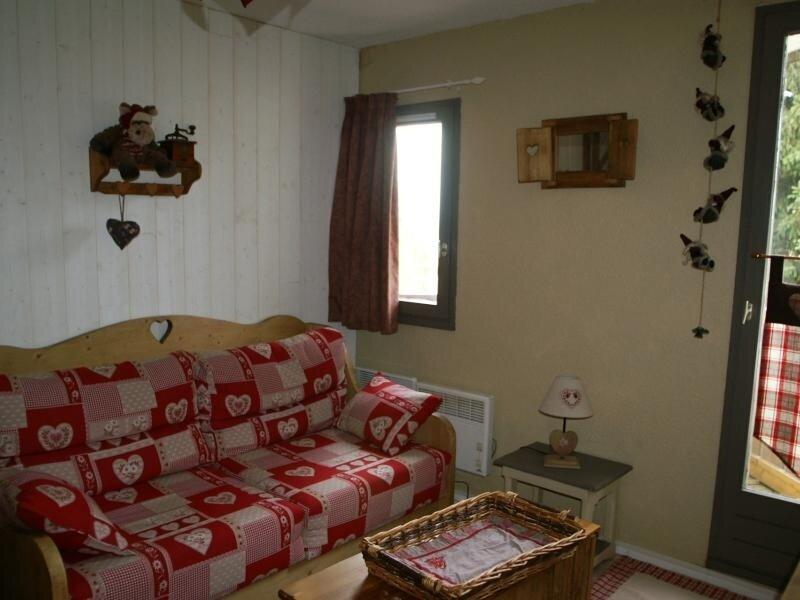 Studio au pied des pistes résidence Sapins, holiday rental in Prapoutel