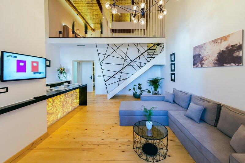 Aigli Seafront Loft - Luxury Designer Duplex, holiday rental in Messini
