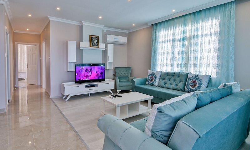 Orange Homes Fener - Lara Antalya ( 2+1 ), vacation rental in Antalya