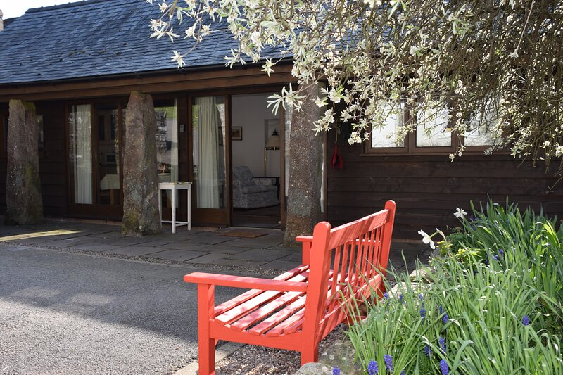 The Courtyard, holiday rental in Llandogo
