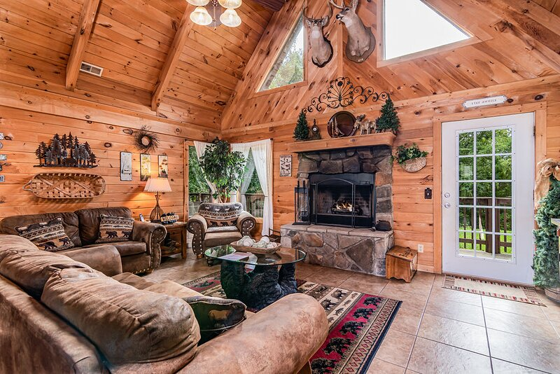 Trail's End Cabin, vacation rental in Omaha