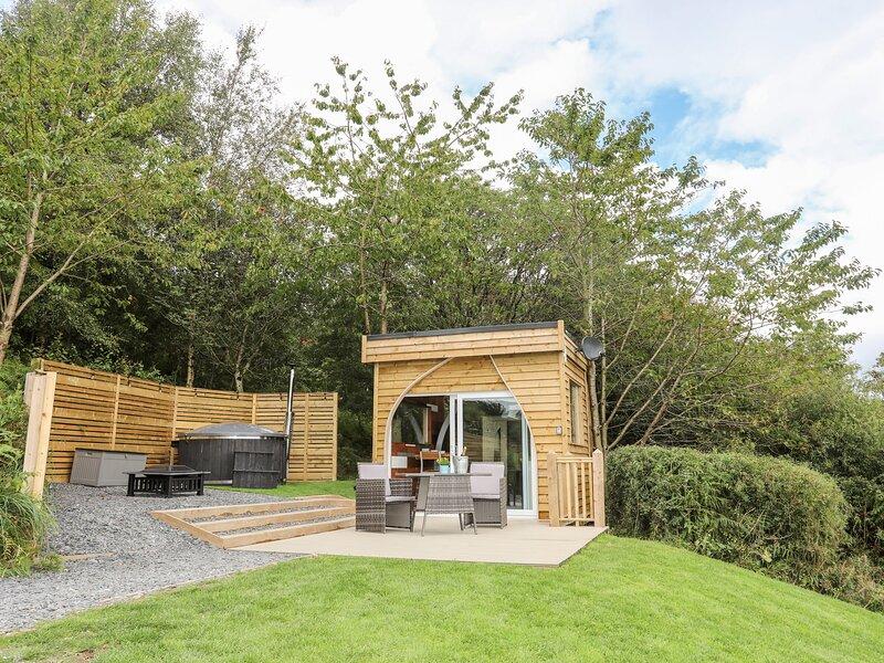 Woodland Pod, Corwen, holiday rental in Maerdy