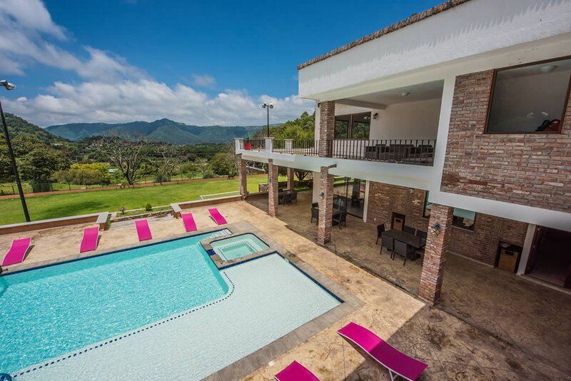 Incredible villa with amazing view, casa vacanza a Malinalco