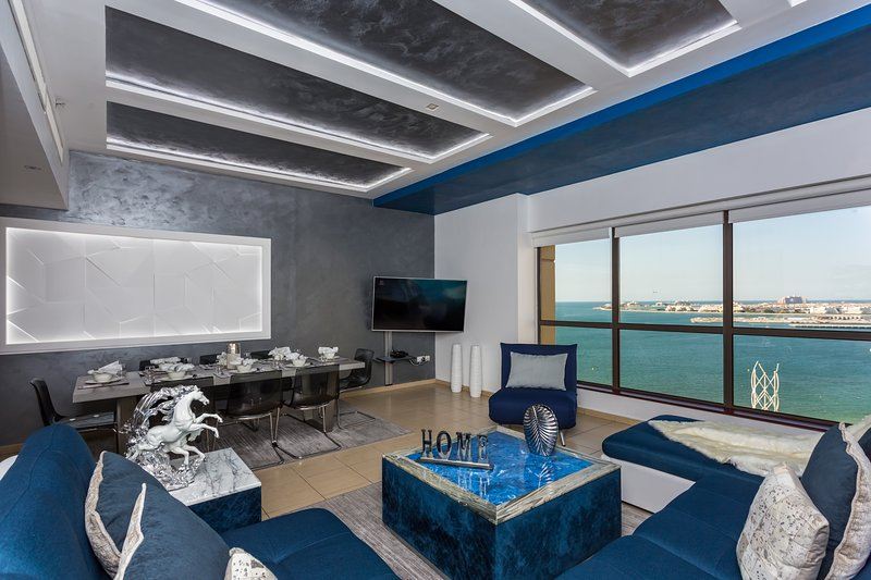 5 Bedroom, modern design , JBR Dubai SEA VIEW 1605, aluguéis de temporada em Dubai