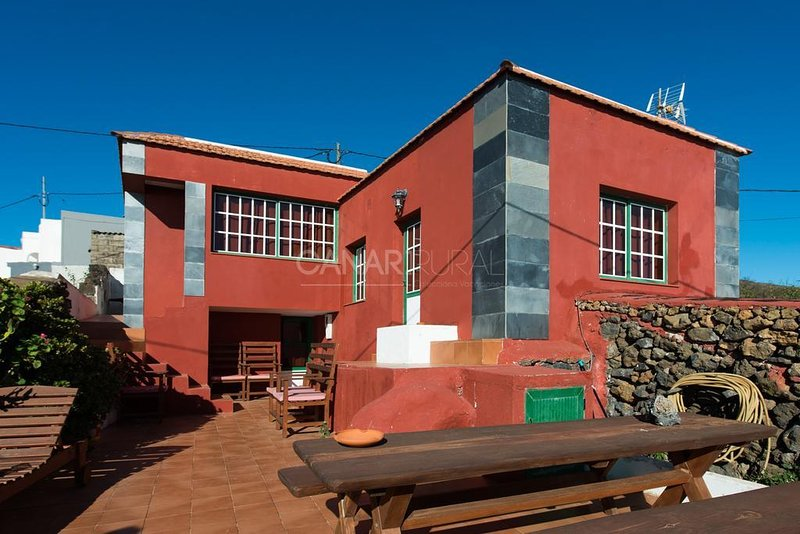 Charming Country house Valverde, El Hierro, vakantiewoning in Taibique