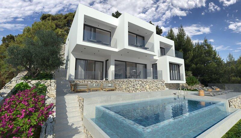 VILLA WHITE HOUSE, holiday rental in Brna