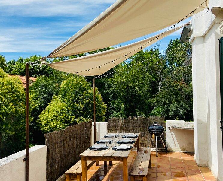 Bel appartement pour 6 p. dans résidence sécurisée avec PARKING et TERRASSE, casa vacanza a Bouches-du-Rhone
