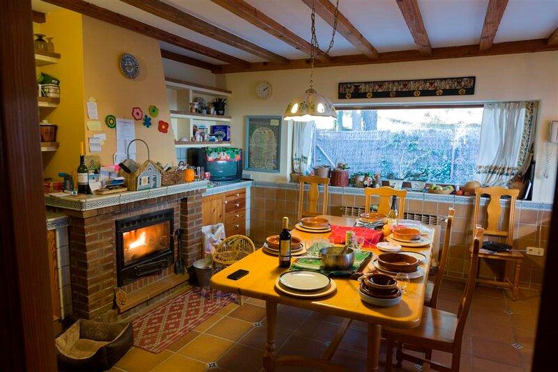 Gran cocina familiar con todos los equipamientos