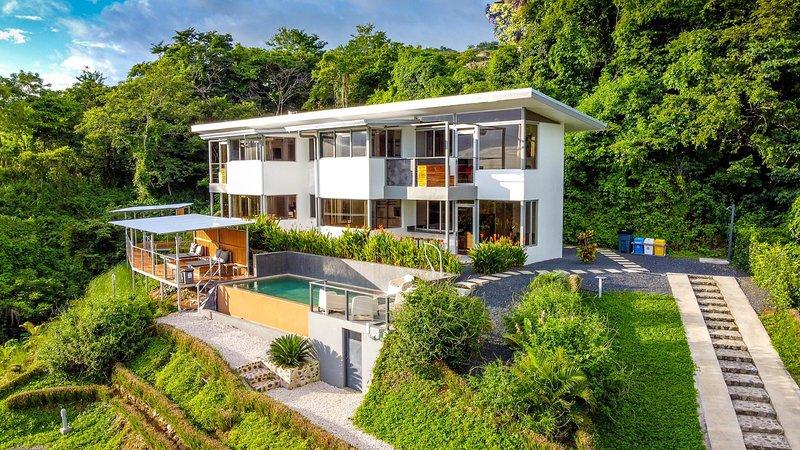 Horizon Lodge, Appartement avec terrasse et vue sur le Pacifique – semesterbostad i Playa Potrero