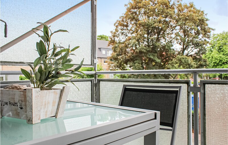 Awesome apartment in Wilhelmshaven with WiFi and 1 Bedrooms (DNS197), holiday rental in Sande