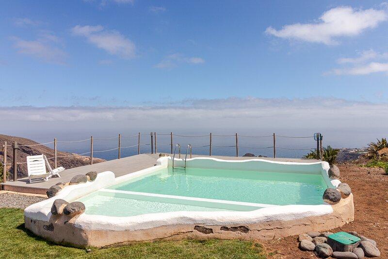 Flatguest Casas Tazirga A  - Terrace - Views - Communal Pool, holiday rental in Hoya de Pineda