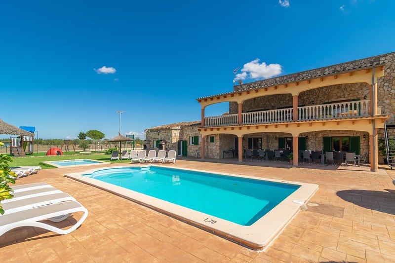 CAN GRAU 32 - Villa for 32 people in Sencelles, vacation rental in Sencelles