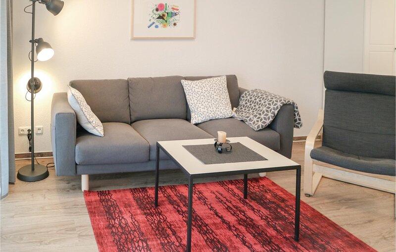 Stunning home in Gelbensande with 1 Bedrooms (DMK665), holiday rental in Klockenhagen
