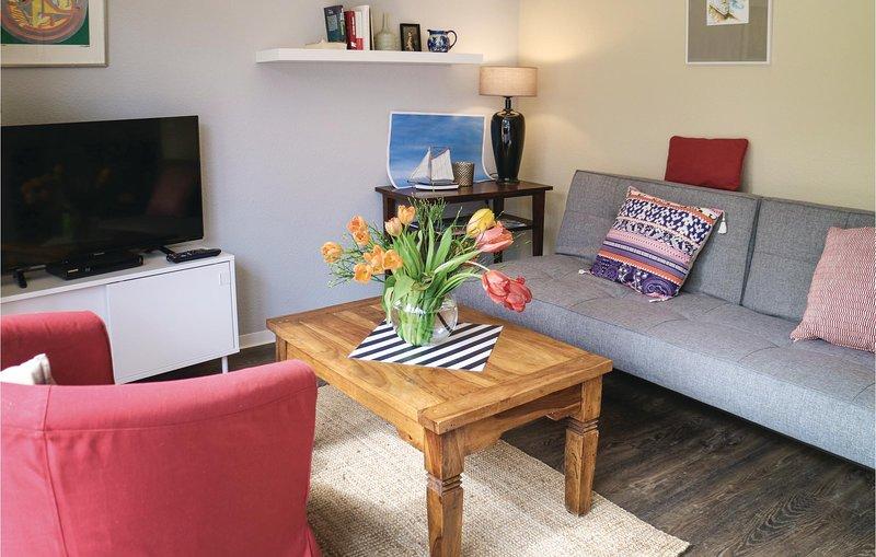 Awesome apartment in Graal-Müritz with 1 Bedrooms (DMK696), holiday rental in Klockenhagen