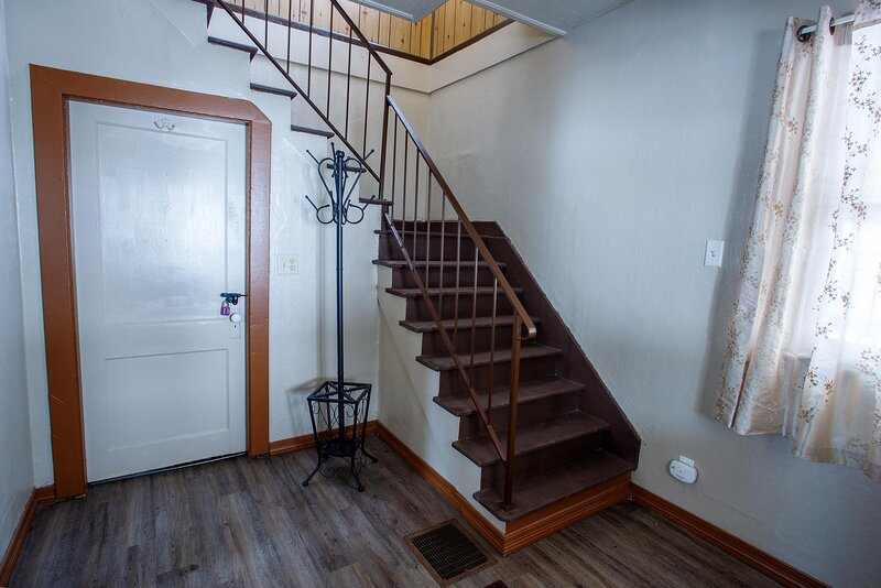 Foyer and stair