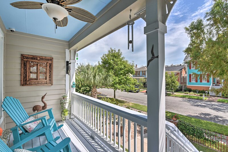 Relax on the porch with a gentle breeze.