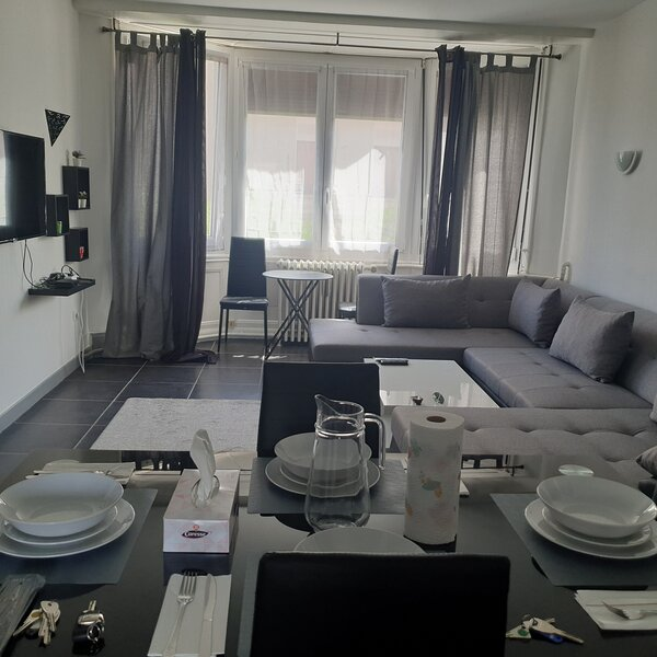 T2 courte durée Bellevue coup de coeur assuré, holiday rental in Aurec-sur-Loire