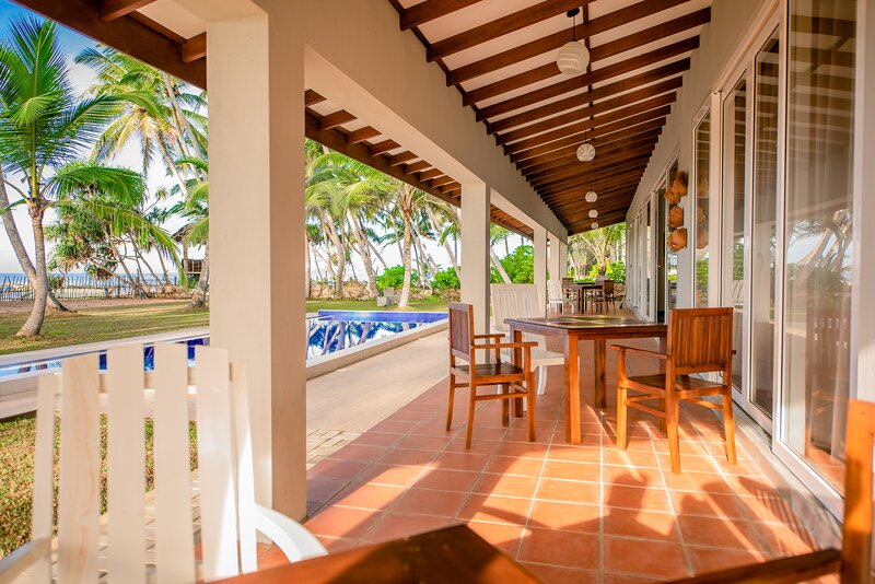 patio from rooms and lounge
