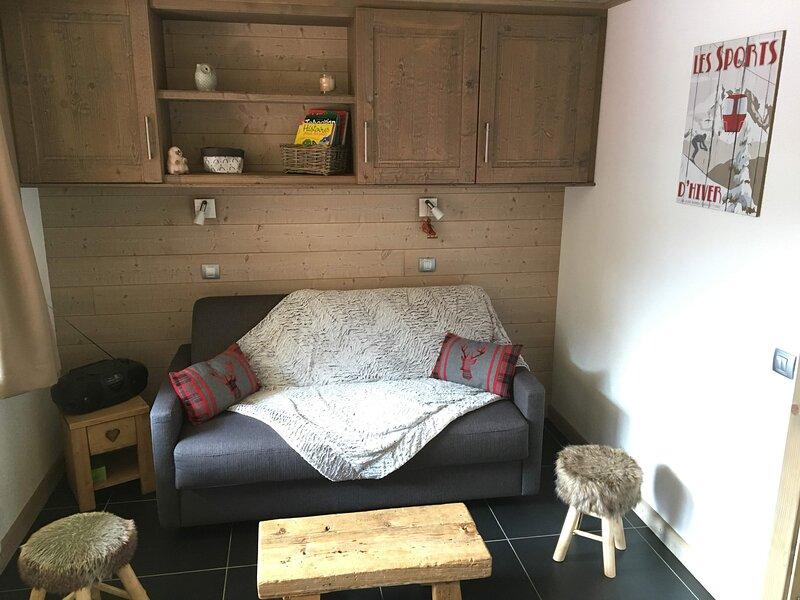 Belle Plagne - Appartement cocoon 5 personnes - Coeur de Village, holiday rental in Belle Plagne