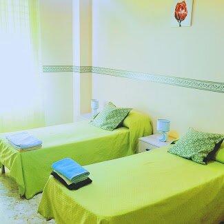 camera doppia spaziosa in vistamare BEB, holiday rental in San Lorenzo
