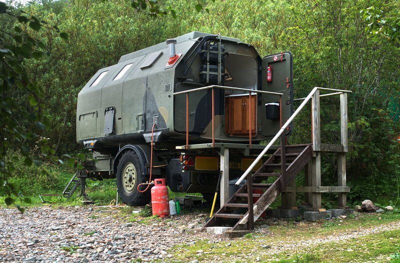 Boris The Military Pod, vacation rental in Drumbuie