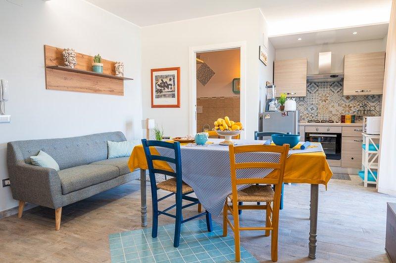 SUITE MASCIARA - Nuovo, moderno, Accogliente.2pax, holiday rental in Fiumefreddo di Sicilia