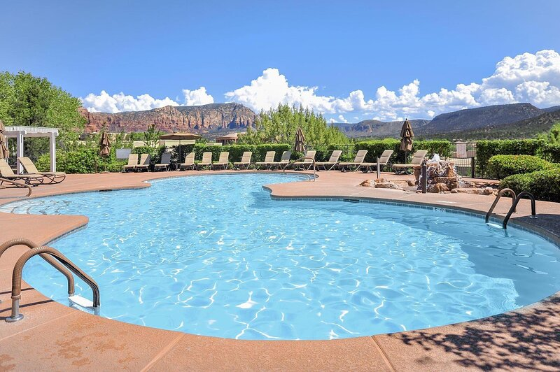 The Ridge on Sedona Golf Resort Studio Unit, SATURDAY Check-In, vacation rental in Village of Oak Creek