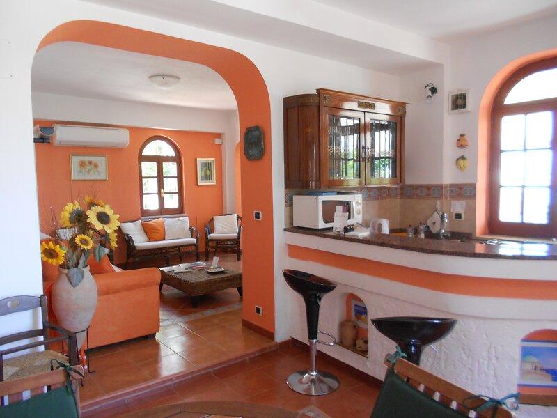 Casa Scilla e Cariddi, vacation rental in Favazzina