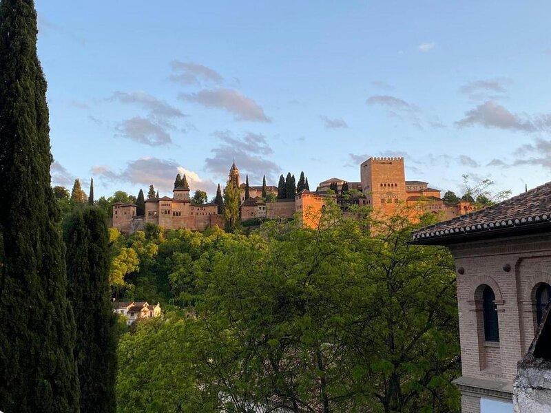 Atico , Albaicin frente Alhambra, holiday rental in Cenes de La Vega