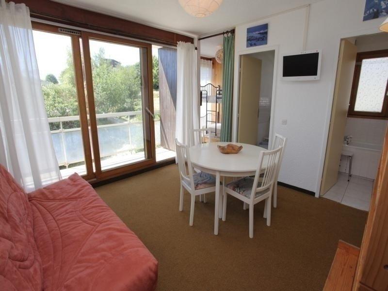 Studio avec alcôve pour 5 personnes, situé à 50 mètres des pistes et à 150, vacation rental in Fontcouverte-la-Toussuire