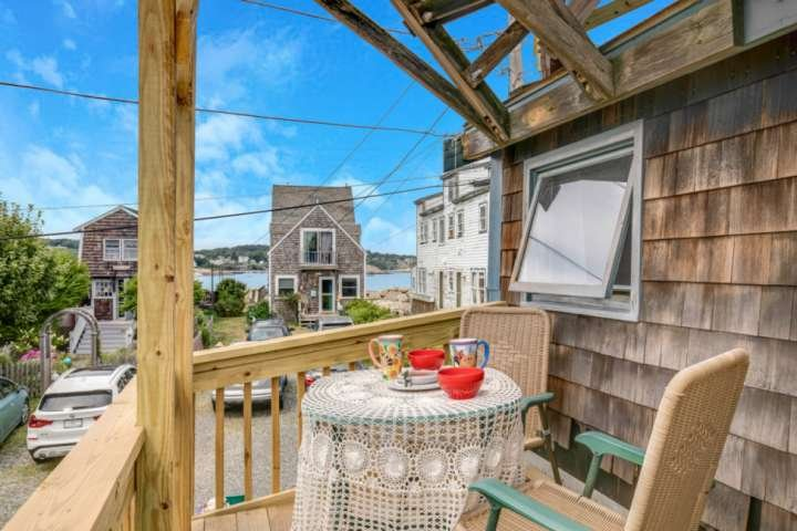 Views of Front Beach from the Breakfast Deck