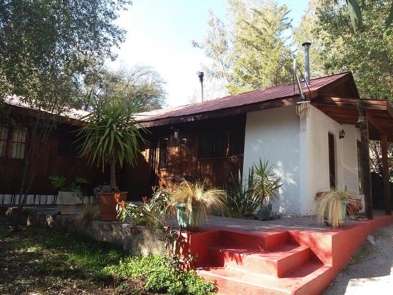 Lomas del Ingenio, Refugio 1, holiday rental in San Jose de Maipo