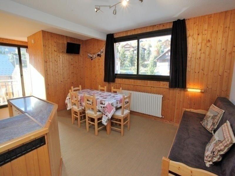 6 pers. 43 m² 1 étage Ouest, vacation rental in Fontcouverte-la-Toussuire