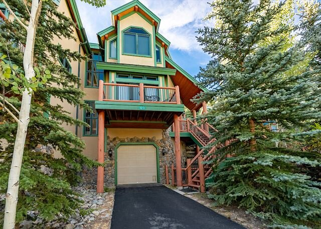 Woods Mesquite Townhome: Location! Sleeps 11, vacation rental in Breckenridge