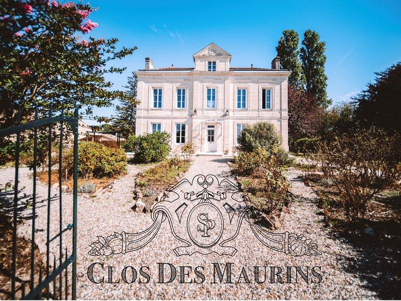 Clos des Maurins, la sérénité au cœur des vignes, vacation rental in Saint-Martin-du-Bois