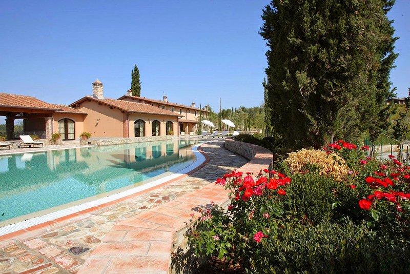 Villa i Prati 16, holiday rental in Montaione