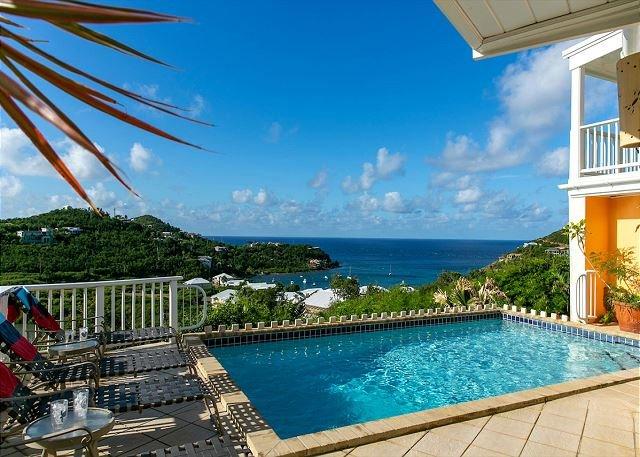Crystal Seaview: Incredible Caribbean Vistas!, vacation rental in Cruz Bay
