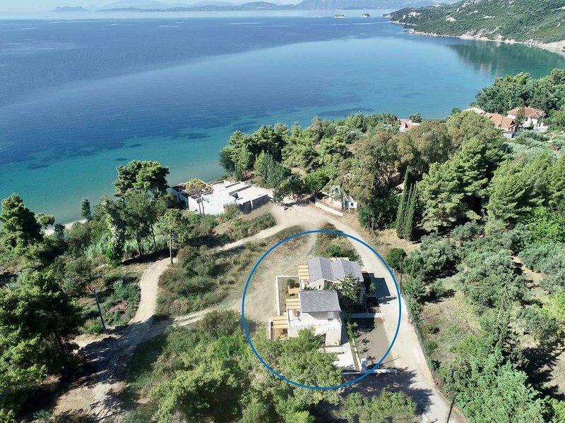 Arion Seaside Suites Studio 1, aluguéis de temporada em Palairos