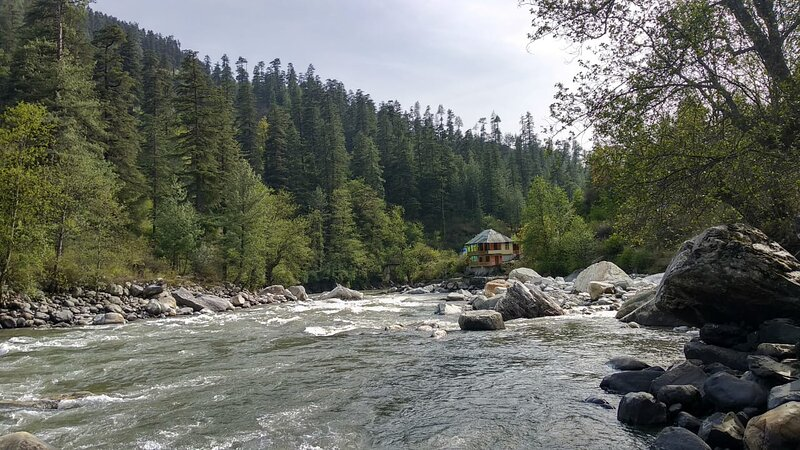 Parvati River Cottage, holiday rental in Bhuntar