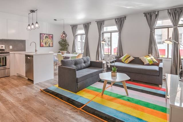 Liv MTL Save 60% Urban 2 Modern 2BR Ideal Big Family + Pet Friendly*, vacation rental in Montreal