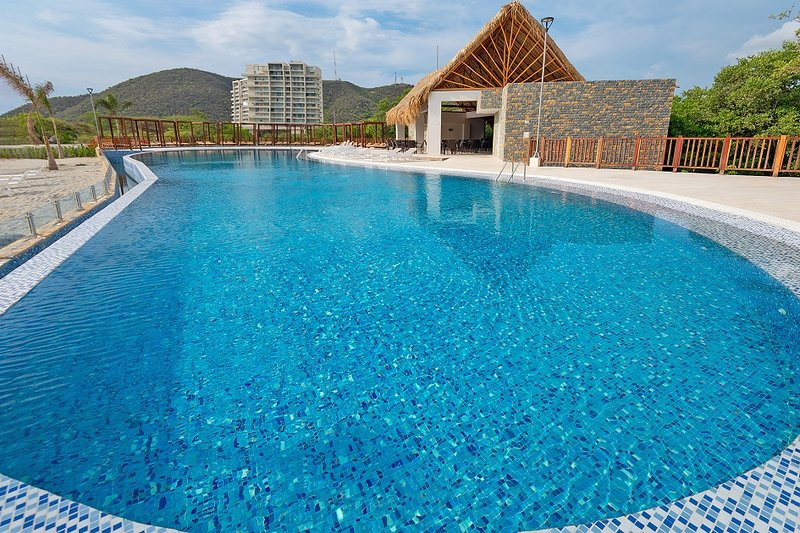 Apartamento en Santa Marta, Samaria Club de playa, holiday rental in Magdalena Department