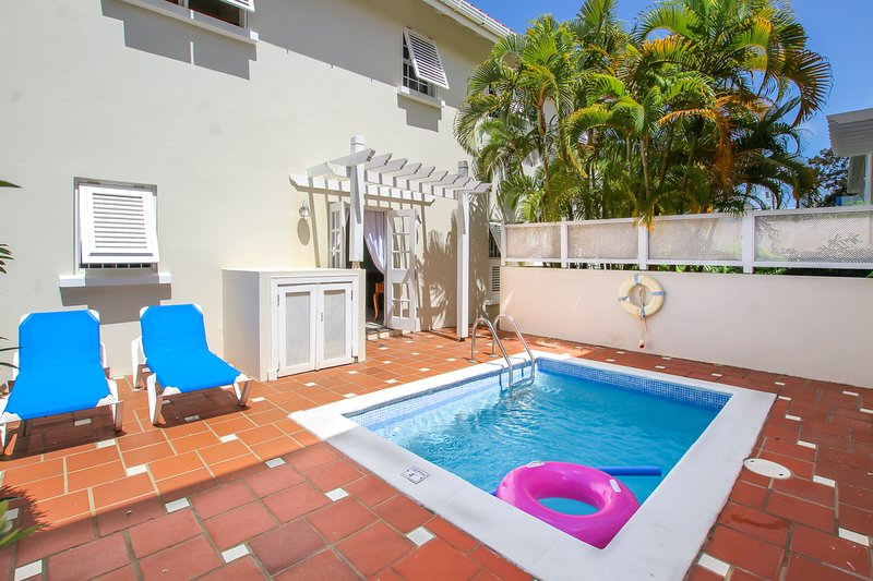 Kick back and relax by our private plunge pool - perfectly made for hanging out with friends and family