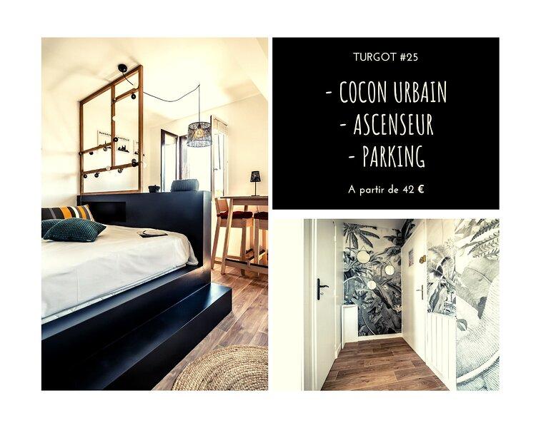 TURGOT #25 - Cocon urbain - 1 Chambre, location de vacances à Allassac