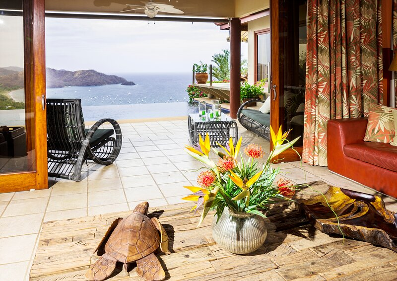 Sweeping views of Coco Bay - Escape! Get Away-Vacation or Work Remote., vacation rental in Playa Hermosa