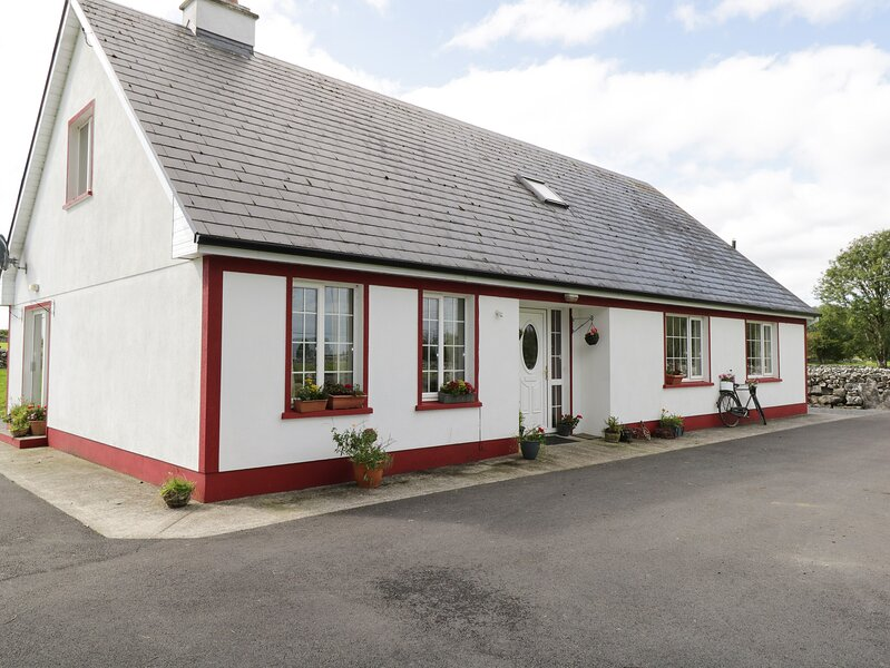 LOUGH MASK ROAD FISHING LODGE, detached, 6BR, woodburner and open fire, near, vacation rental in Clonbur
