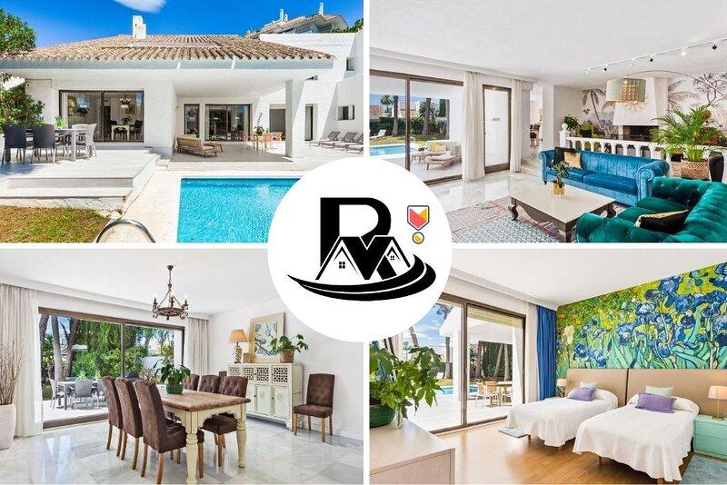 Luxury Villa Esmeralda With 5 Bedrooms, Close To Puerto Banús (7) ✔, vacation rental in Marbella